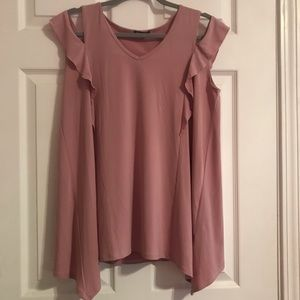 Pink Off Shoulder Top Medium